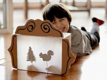 5 Đồ chơi Bạn có thể làm với một hộp rỗng